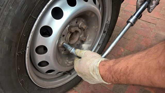 Tire Repair by Mechanic Markham